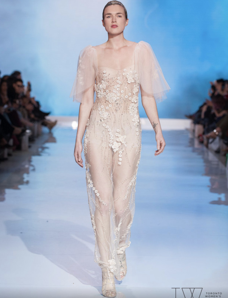 SPOTTED: Stefanie for Di Carlo Couture @ TWFW