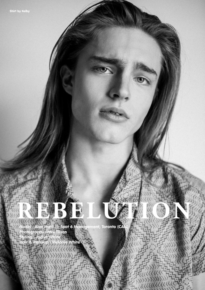 SPOTTED: REBULATION // ALEXANDER HUNT MODEL MAGAZINE