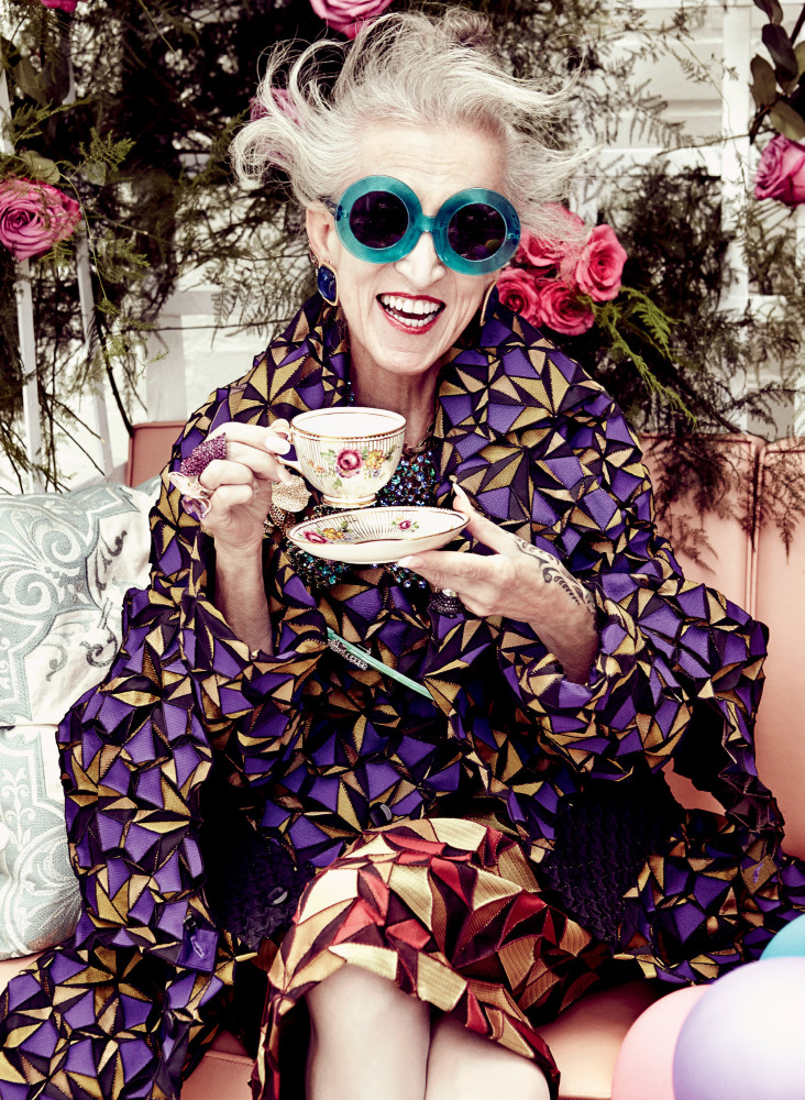 Judith Maria Bradley for Elle Canada's Mad Hatter's Tea Party