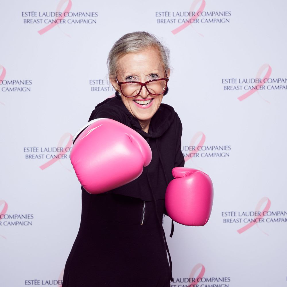 JUDITH & ESTEE LAUDER TEAM UP TO END BREAST CANCER