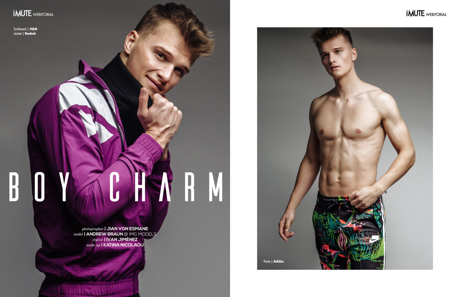 SPOTTED: BOY CHARM // ANDREW B.  FOR IMUTE MAGAZINE