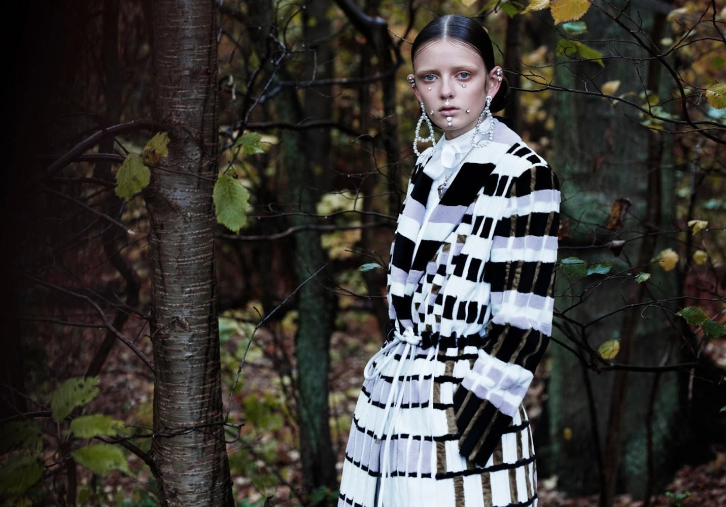 SPOTTED: MISTY DEW // CLARA  FOR VOGUE ITALIA
