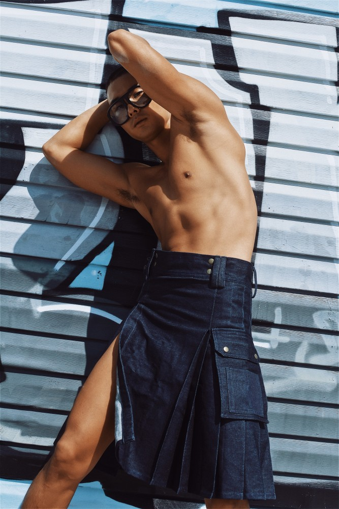 SPOTTED: Do Jin for Desnudo Magazine UK