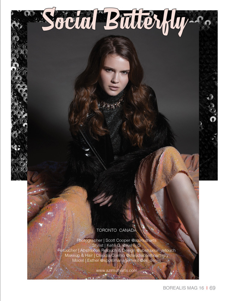 SPOTTED: SOCIAL BUTTERFLY // ESTHER FOR BOREALIS MAGAZINE