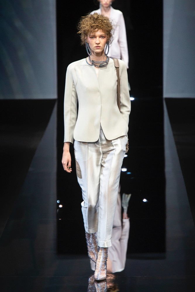 SPOTTED: KAYLEIGH FOR GOIRGO ARMANI @ MFW