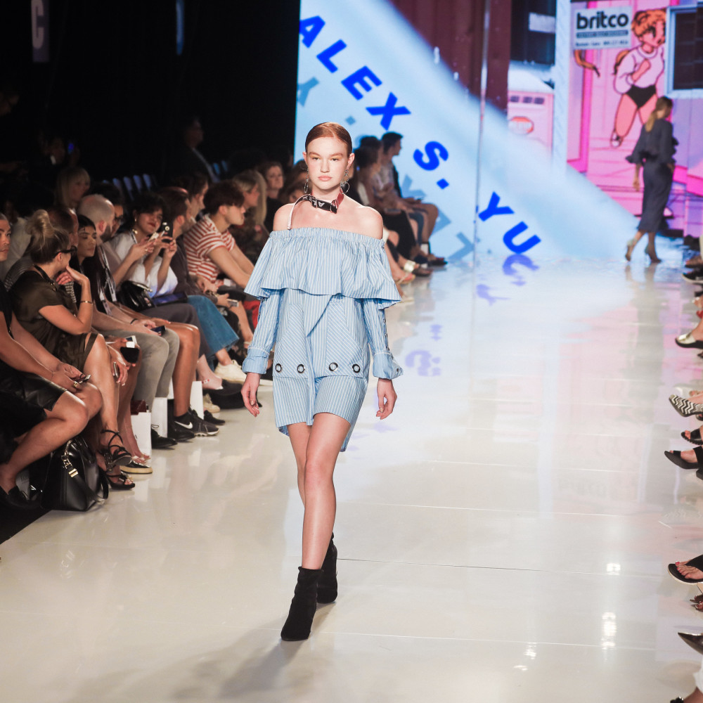 SPOTTED: RACHEL M.  FOR ALEX S YU @ TFW