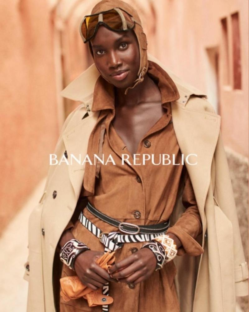SPOTTED: NYA X BANANA REPUBLIC