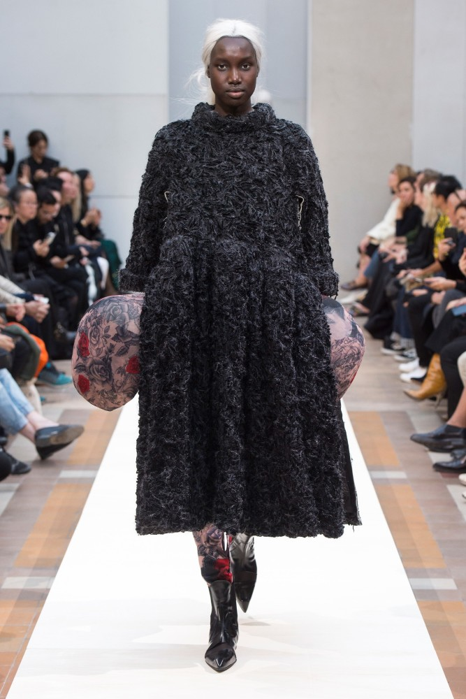 SPOTTED: NYA FOR COMME DES GARCONS @ PFW