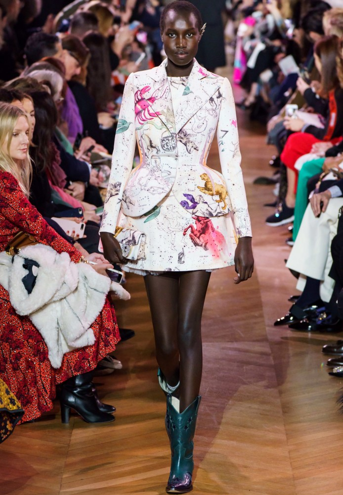 SPOTTED: NYA FOR SCHIAPARELLI COUTURE