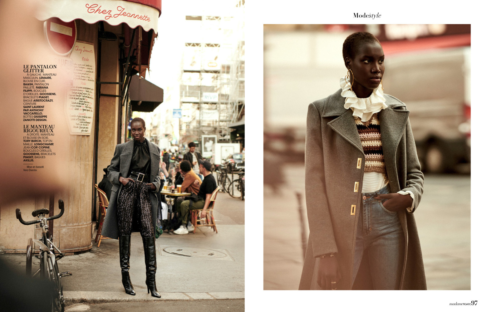 SPOTTED: EFFETS D'HIVER //NYA FOR MADAME FIGARO