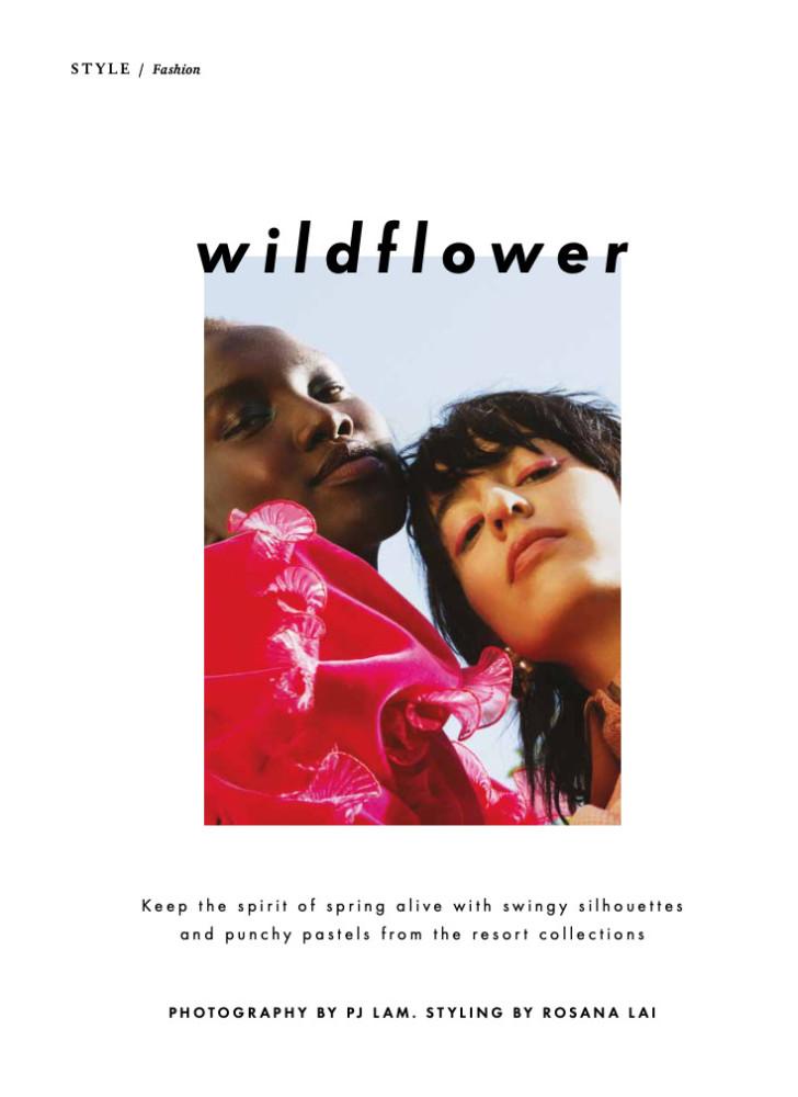 SPOTTED: WILDFLOWER // NYA FOR TATLER MAGAZINE