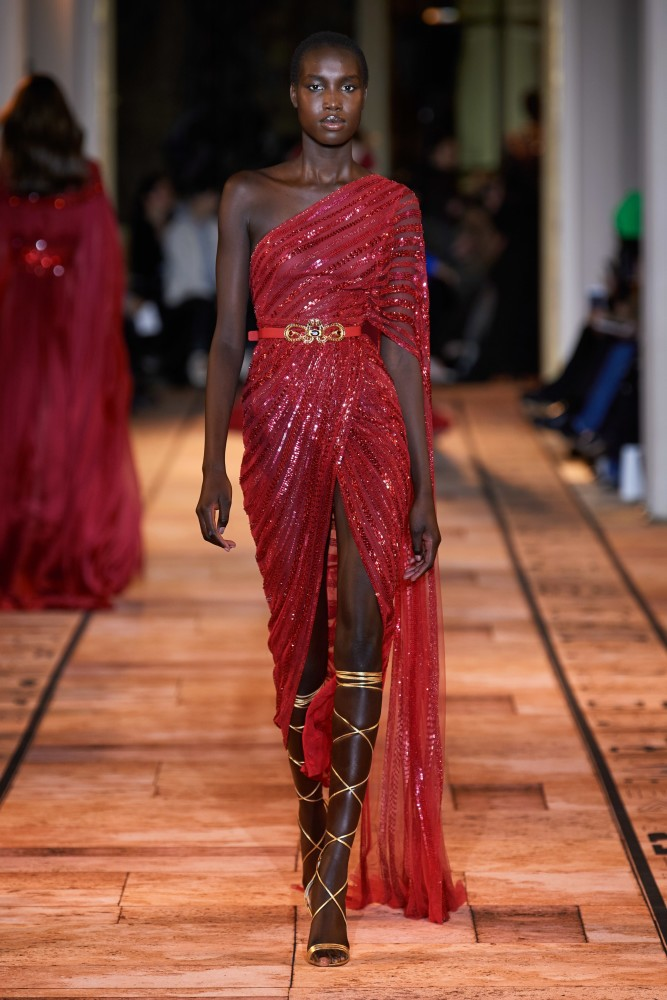 SPOTTED: NYA FOR ZUHAIR MURAD SS 2020 COUTOUR