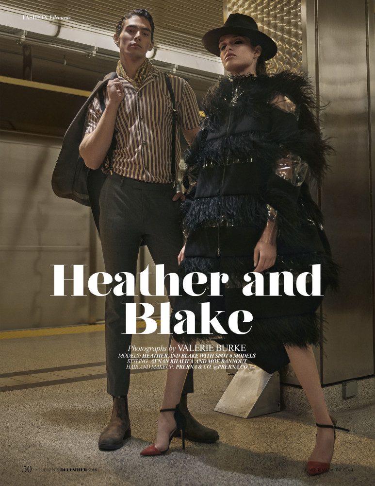 SPOTTED:  BONNIE + CLYDE // BLAKE + HEATHER FOR ELEMENTS MAGAZINE