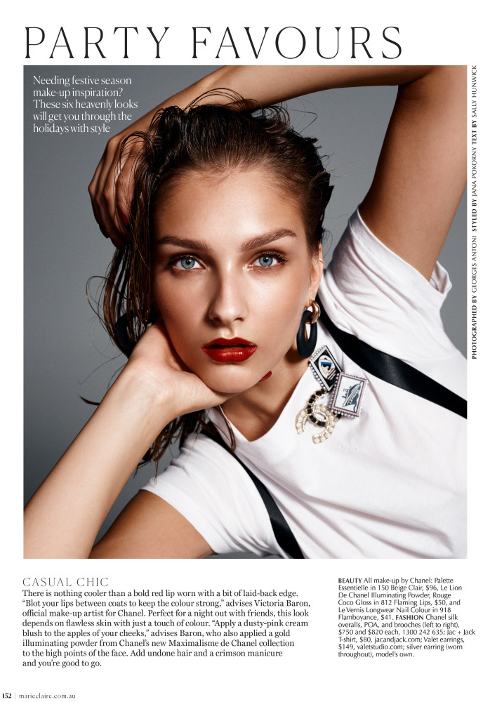 SPOTTED: PARTY FAVOURS // WERONIKA FOR MARIE CLAIRE AUSTRALIA