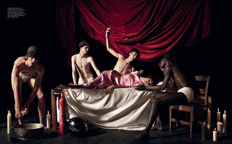 Fernando Albaladejo - Willy Vanderperre - Vogue Italia - September 17
