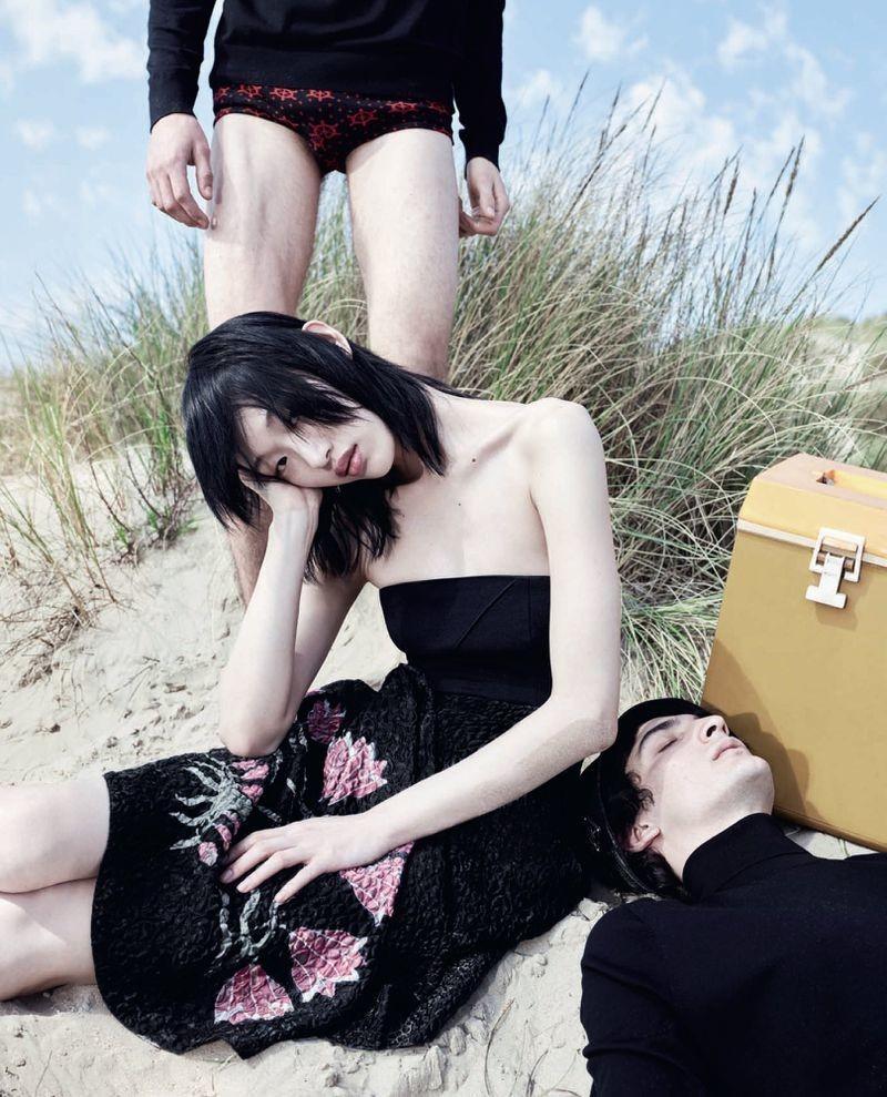 Luca Lemaire - Willy Vanderperre - Vogue Italia - June 2018