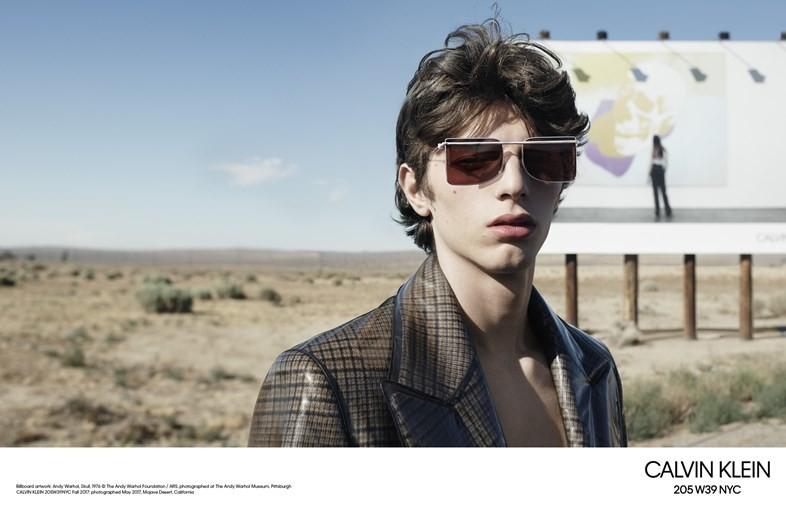 Fernando Albaladejo - Willy Vanderperre - Calvin Klein - FW17