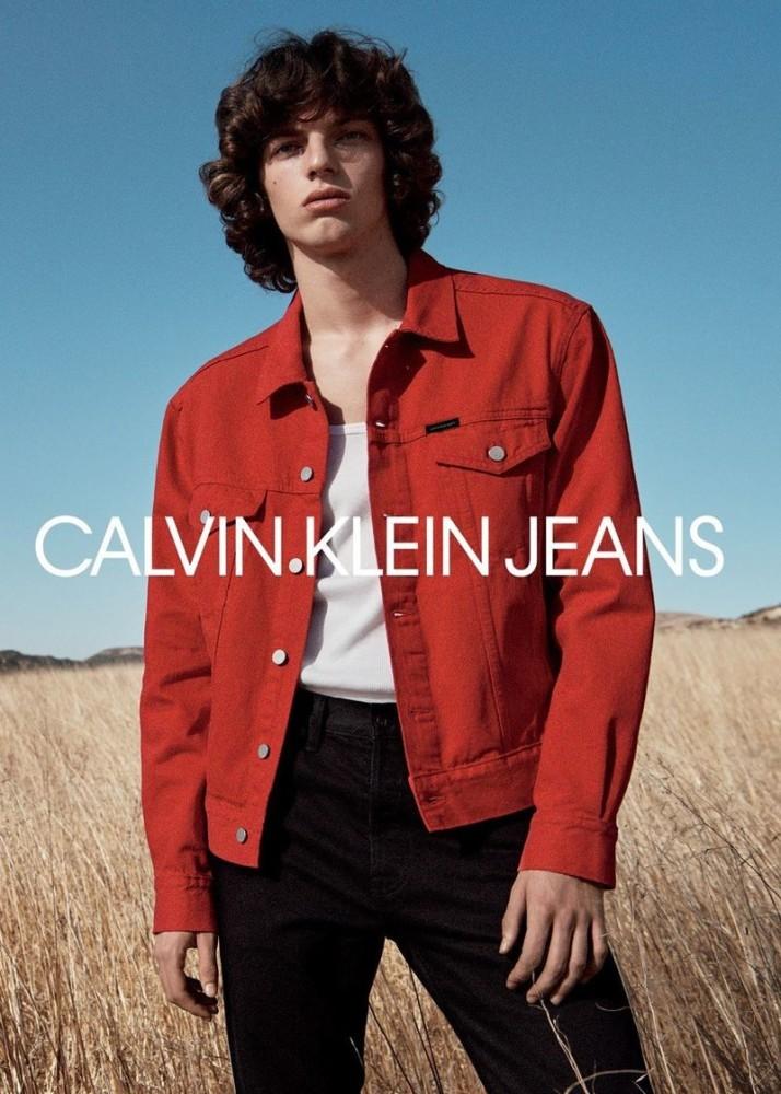 Fernando Albaladejo - Lachlan Bailey - Calvin Klein Jeans SS 2018