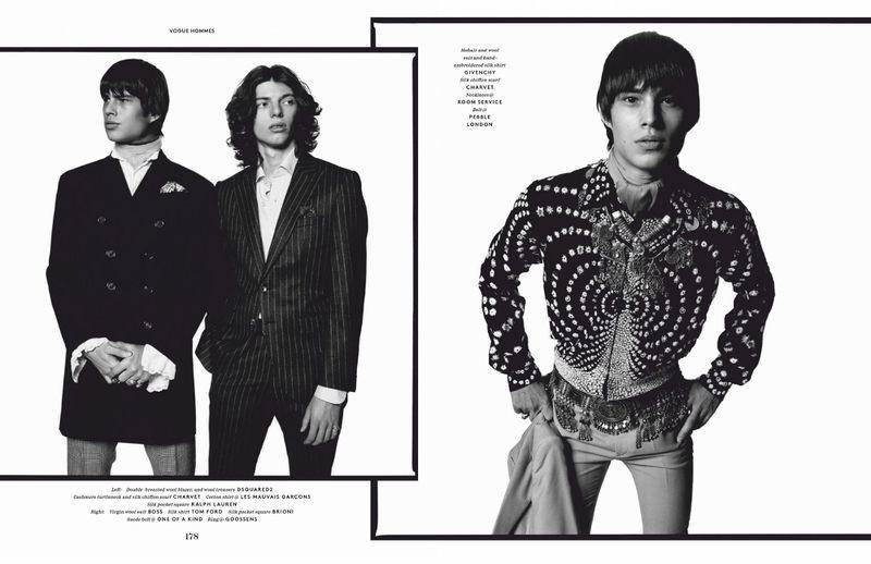 Fernando Albaladejo - David Bailey - Vogue Hommes - April 19