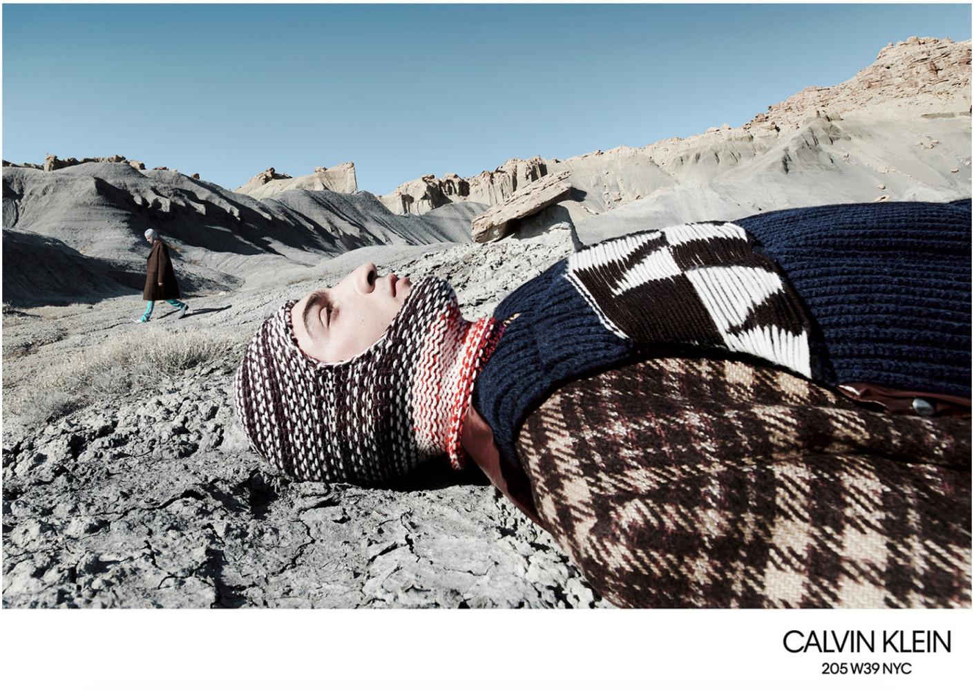 Luca Lemaire - Fernando Albaladejo - Willy Vanderperre - Calvin Klein FW 18