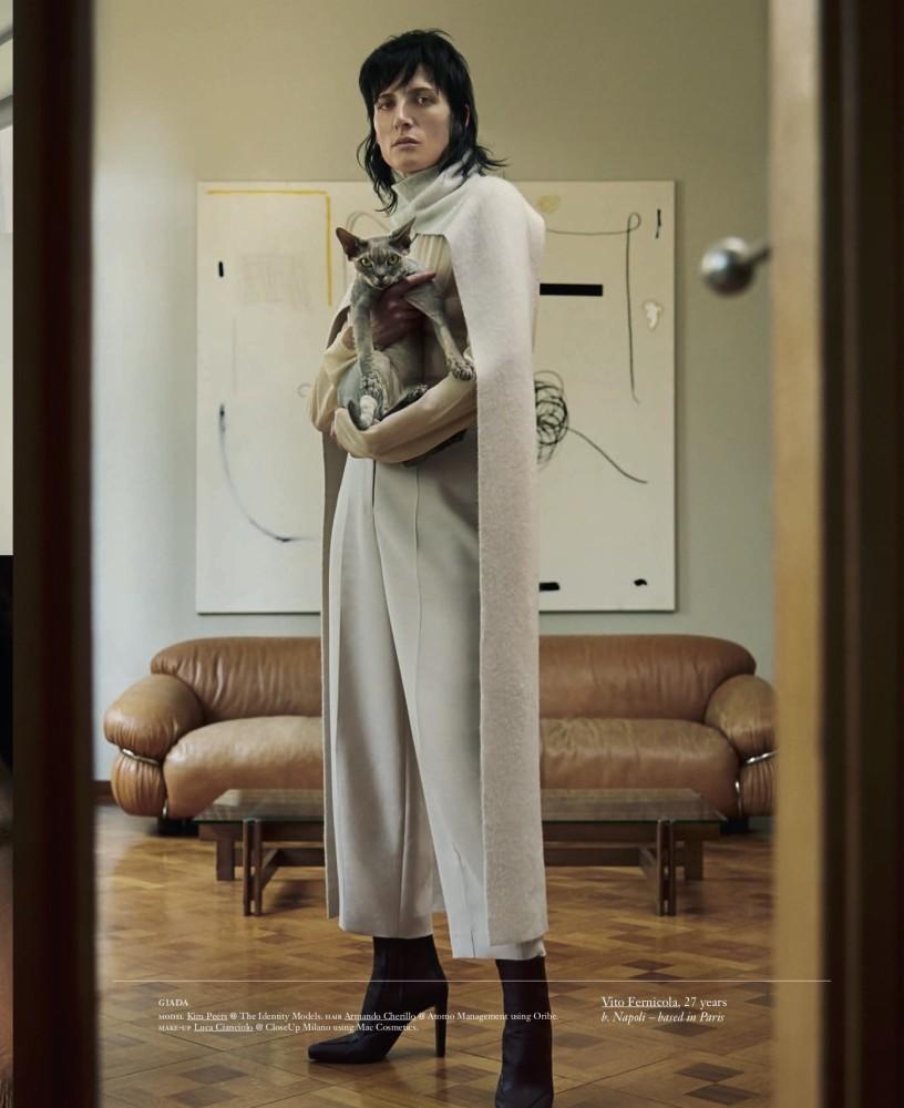 Kim Peers - Vito Fernicola - Vogue Italia - August 18