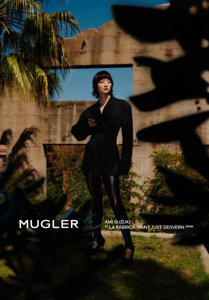Ami Suzuki - Arnaud Lajeunie - Mugler - SS 2018