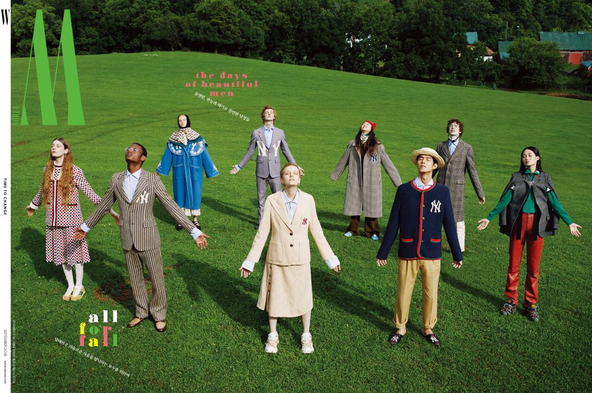 Honza Stiborek - Tierney Gearon - W Magazine Korea - September 18