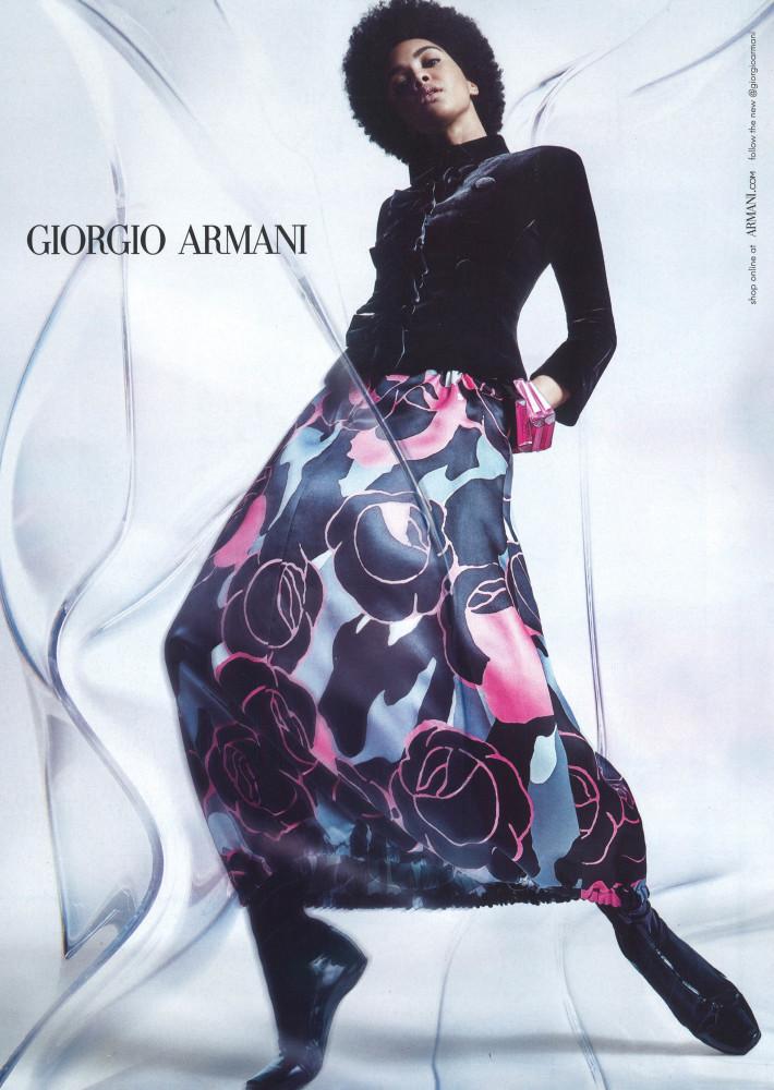 Elsa Baldaia - Giulio Rustichelli - Giorgio Armani FW21