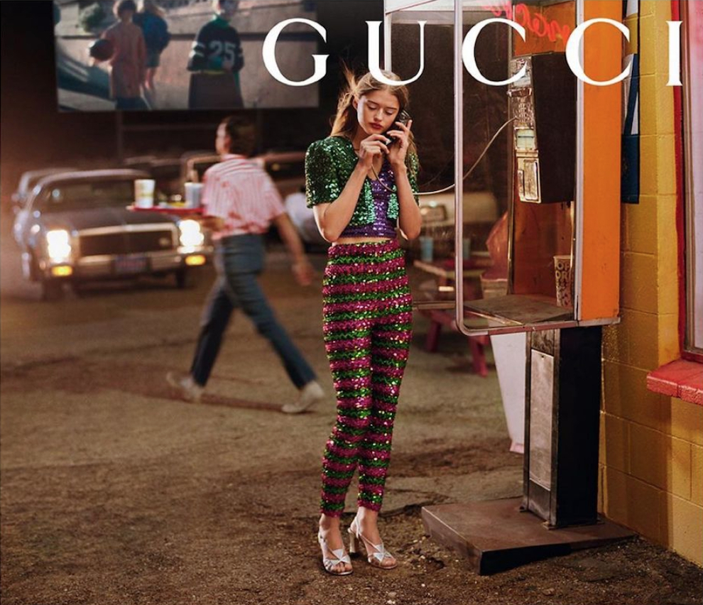 Bonnie Panasenko - Glen Luchford - Gucci - June 21