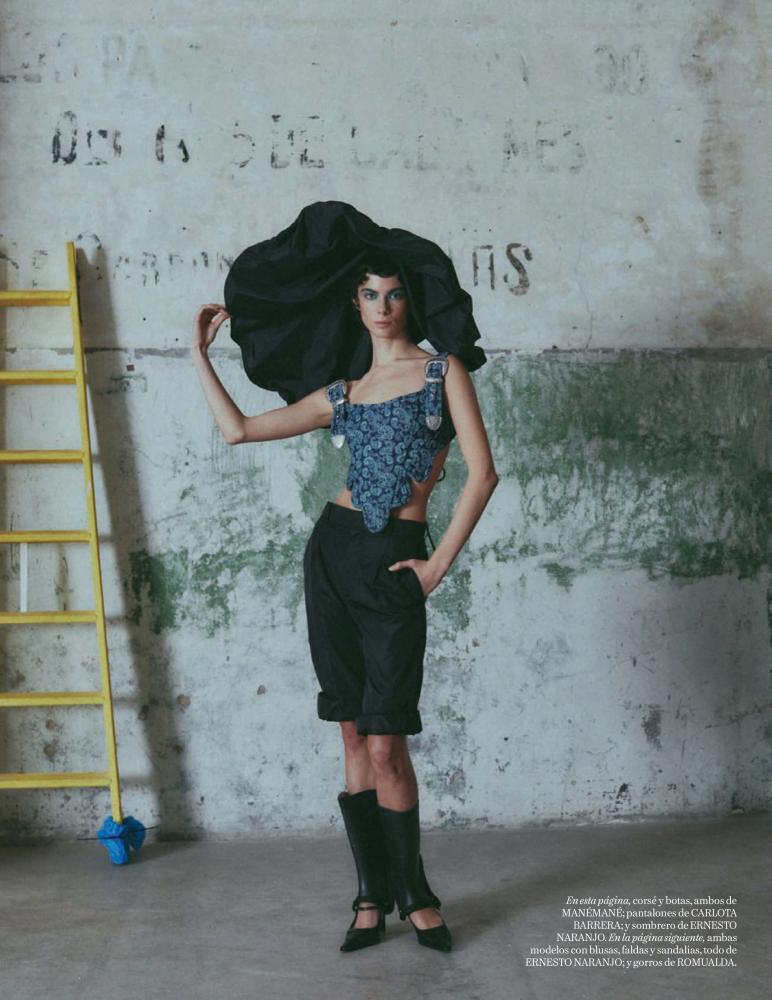 Alba Luna - Angela Suarez - Vogue España - March 21