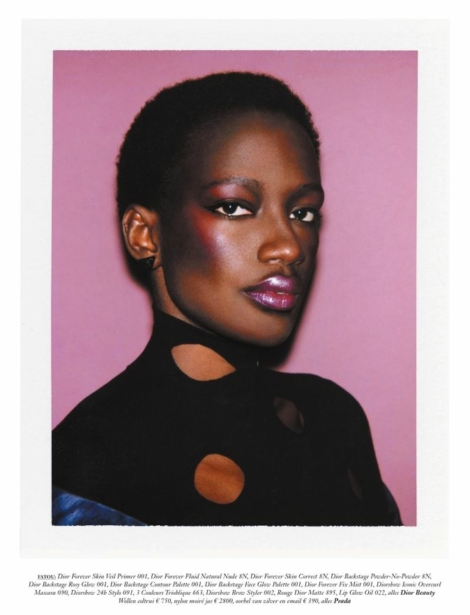 Fatou - Ferry Van Der Nat - Vogue Netherland - April 21