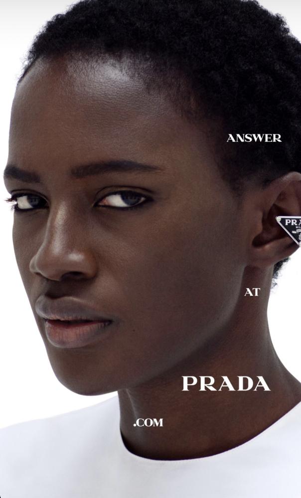 Fatou - Willy Vanderperre - Prada SS21 - January 21