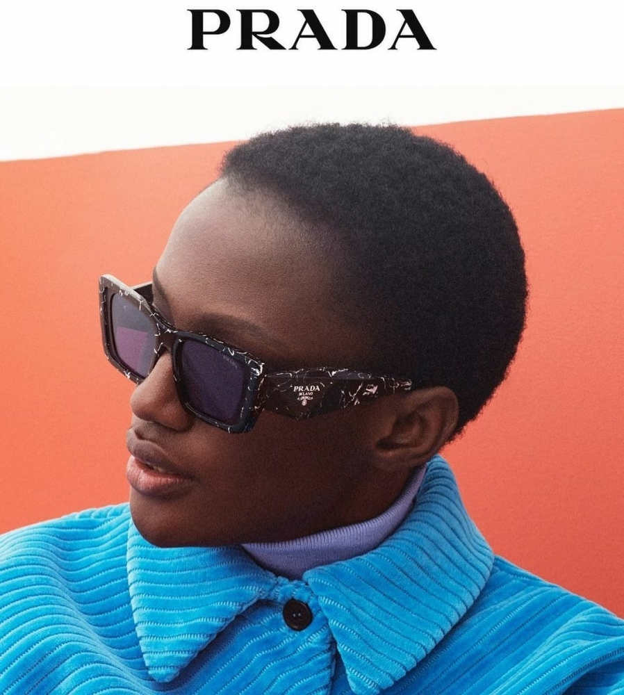 Fatou -  David Sims - Prada Eyewear - October 21