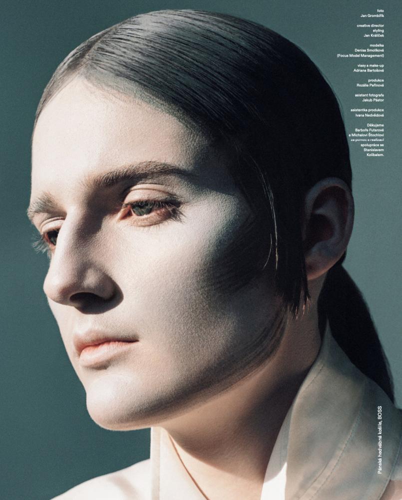 Denisa Smolikova - Jan Krombirik - Vogue Czechoslovakia - March 21
