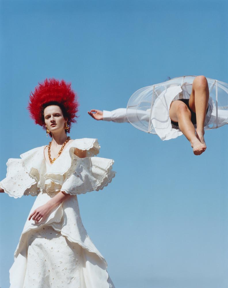 Denisa Smolikova - Estelle Hanania - Revue Magazine - June 21