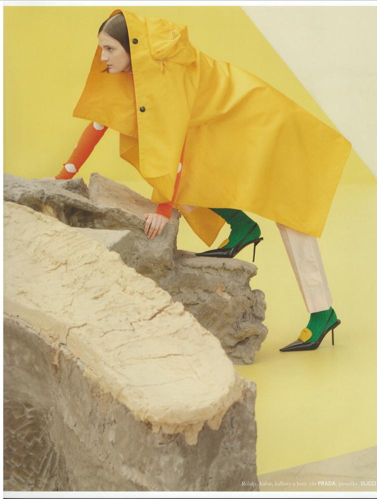 Denisa Smolikova - Magda Wunsche&Aga Samsel - Vogue Czechoslovakia - March 21