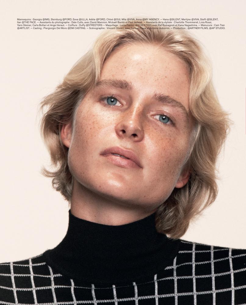 Steffi Cook - David Sims - M Le Monde - September 21