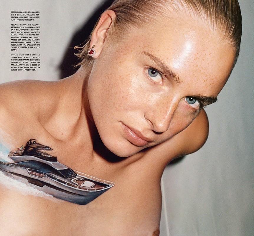 Steffi Cook - Rosie Marks - Vogue Italia - November 20