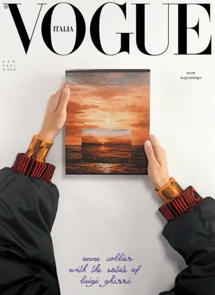 Tessa Jean  - Anne Collier - Vogue Italia -October 21