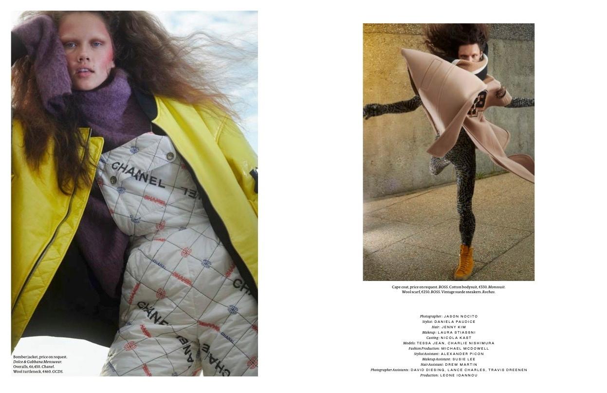 Tessa Jean - Jason Nocito - Vogue Scandinavia - October 21