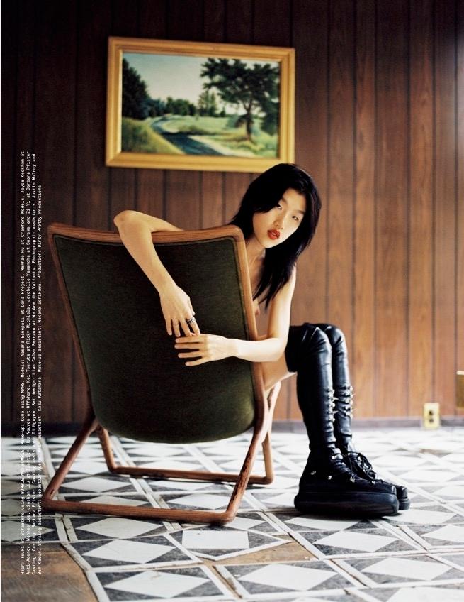 Jiashan Liu - Fumi Nagasaka - AnOther Magazine - October 21