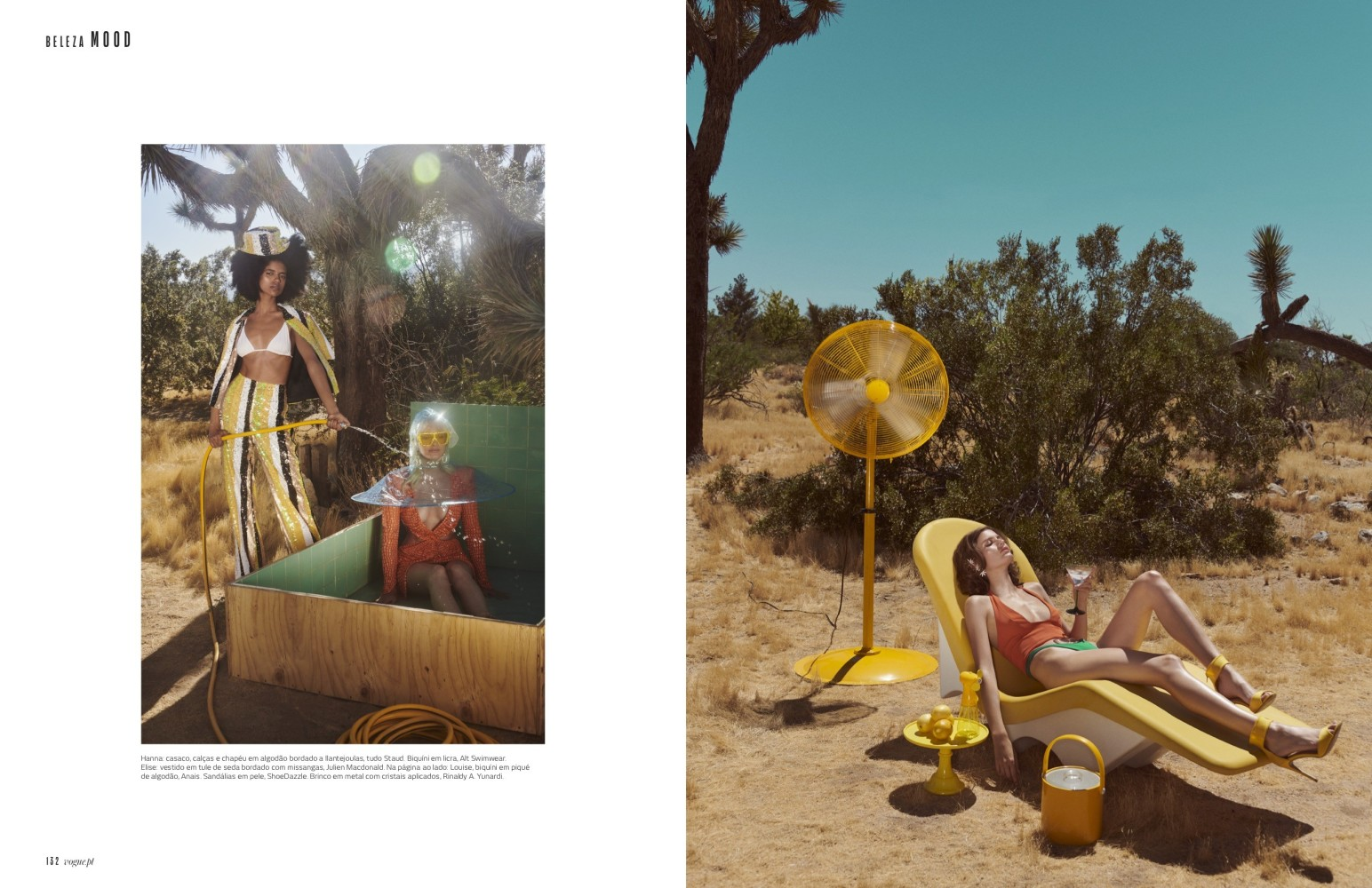 Louise Lefebure - Jamie Nelson - Vogue Portugal - September 19