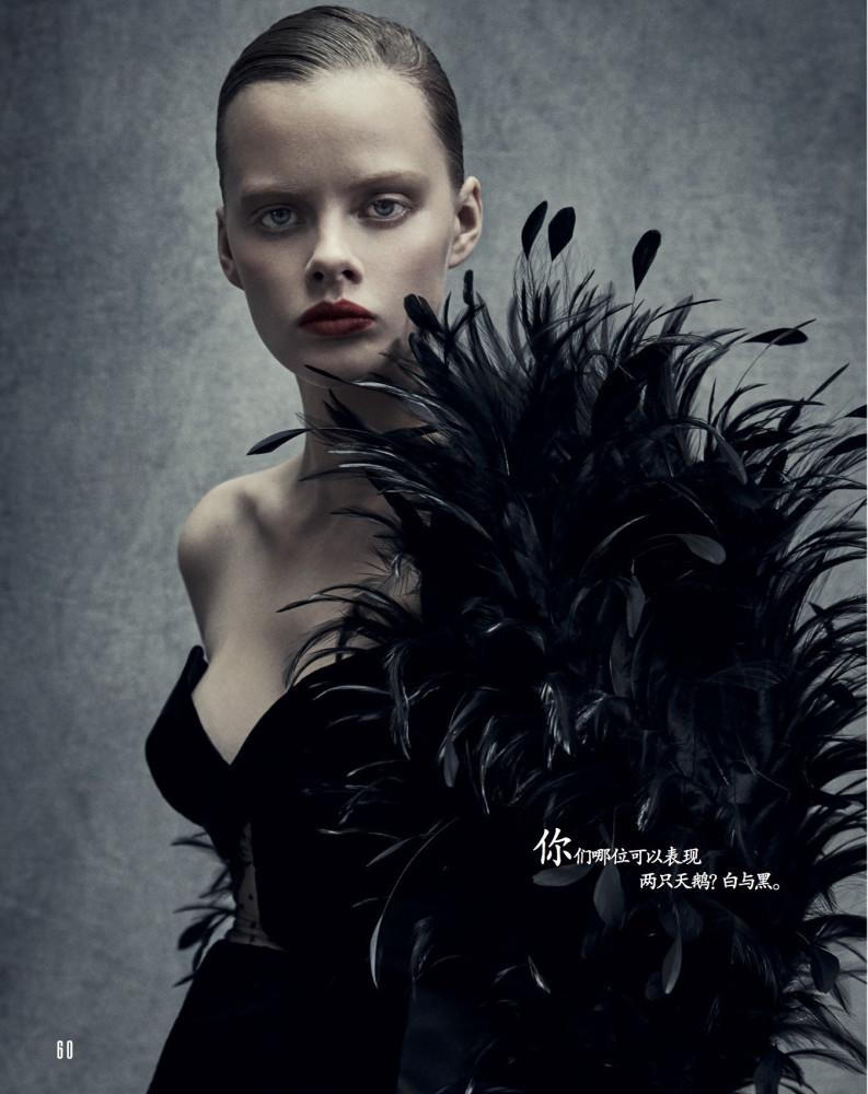 Maeve Whalen - Patrick Demarchelier - Vogue China - July 17