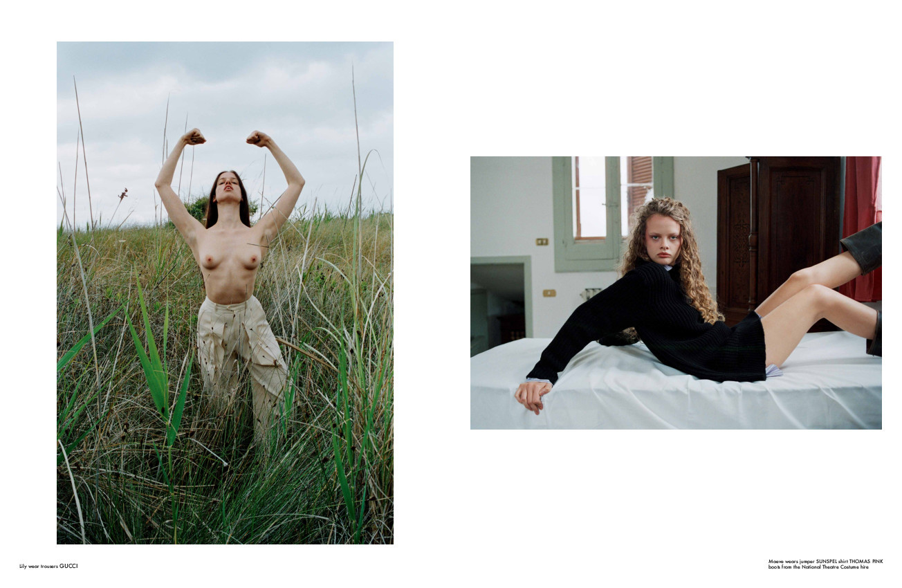 Maeve Whalen - Talia Chetrit - Re Edition Magazine - October 19
