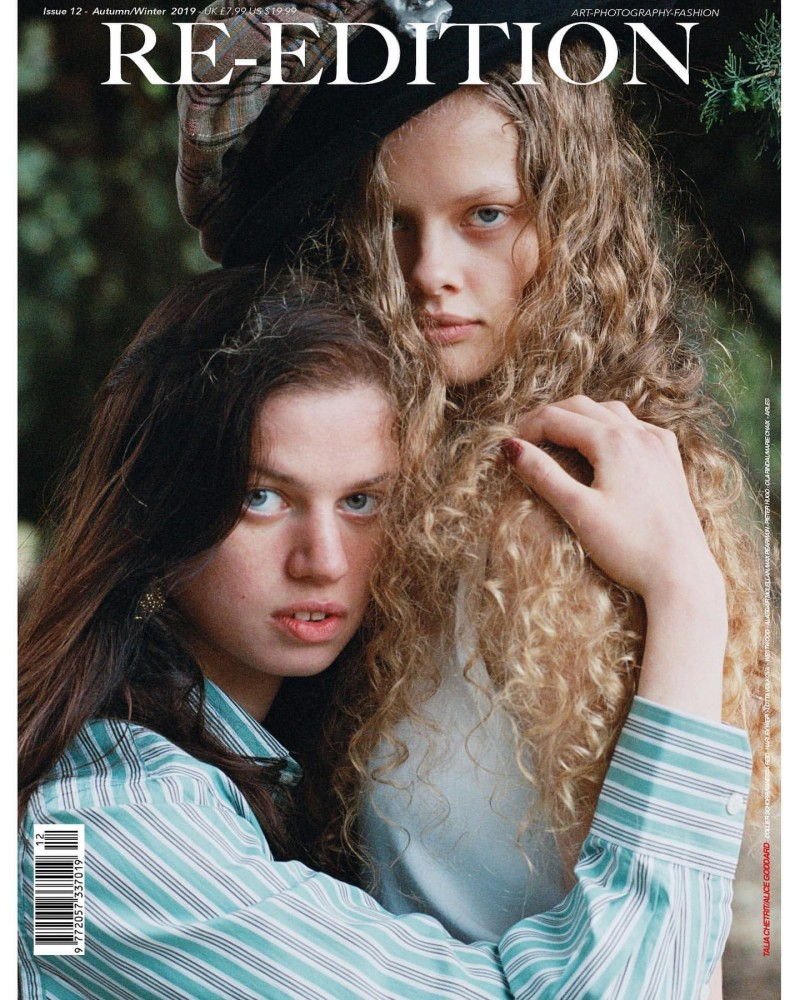 Maeve Whalen - Talia Chetrit - Re-Edition Magazine - Cover October 19