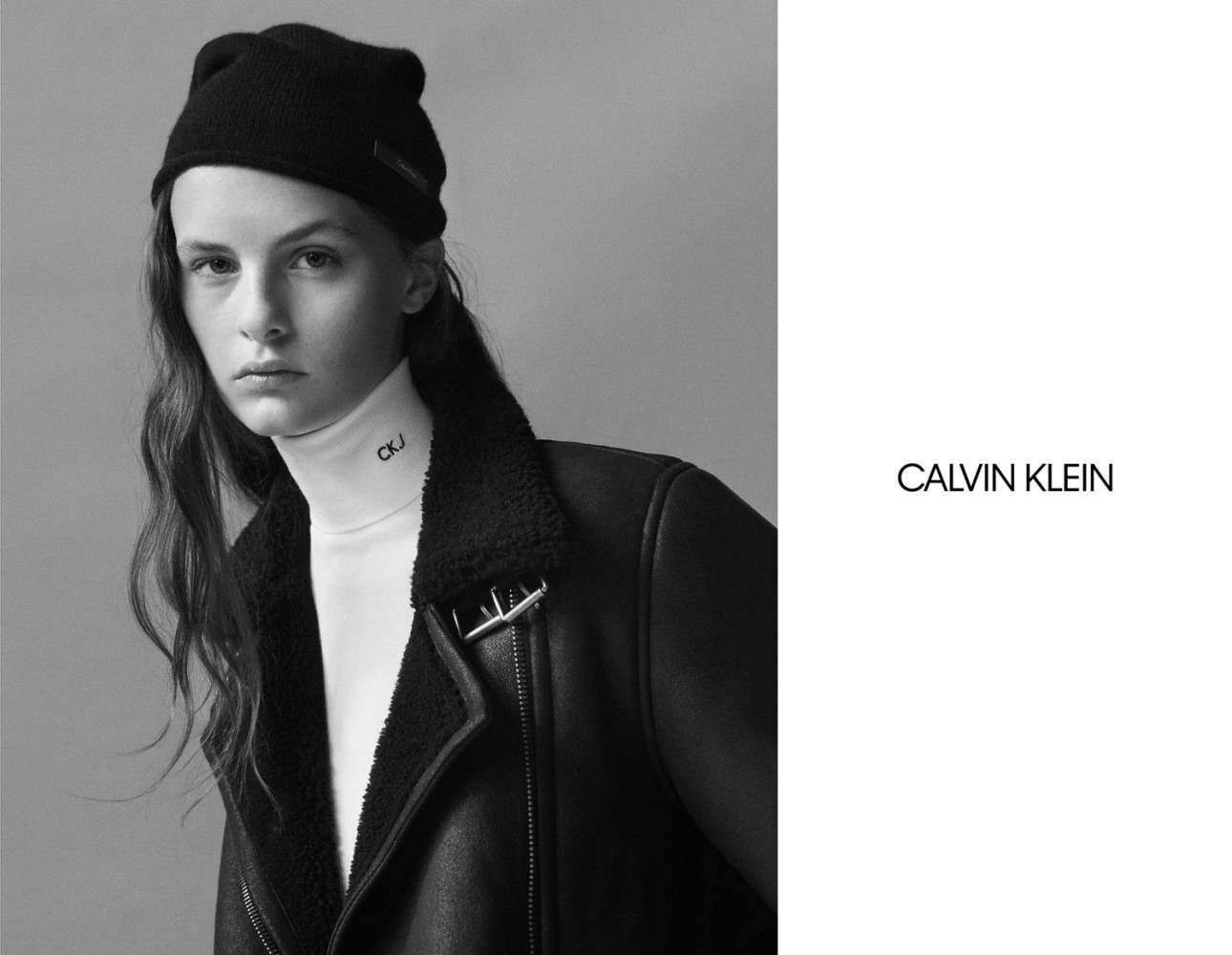 Lea Holzfuss - Willy Vanderperre - Calvin Klein