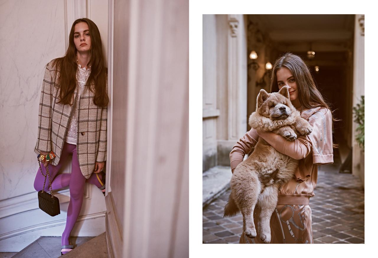 Lea Holzfuss - Steven Pan - Vogue Mexico - February 18