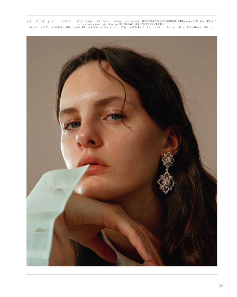 Lea Holzfuss - Zee Nunes - Vogue italia - March 2018