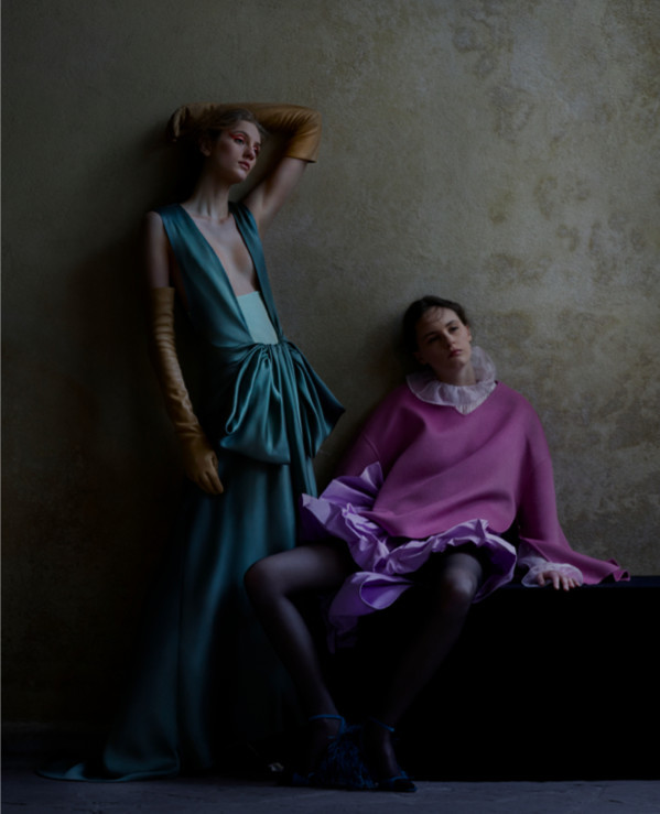 Lea Holzfuss - Julia Hetta - Vogue Italia - April 2018