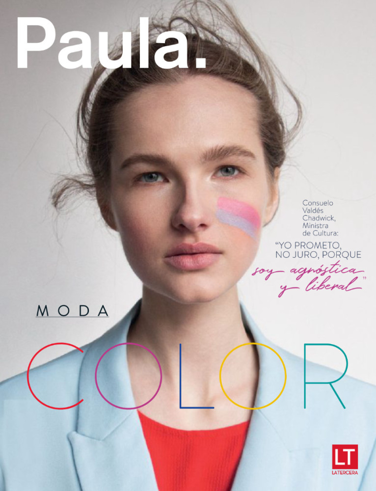 Gabija taking over Argentina with the cover of Paula Magazine